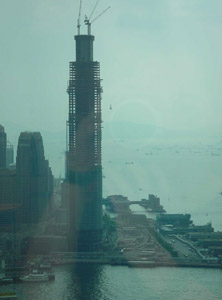 Heather Martino | from the 60th floor 2 | Central Plaza, Wanchai, HK