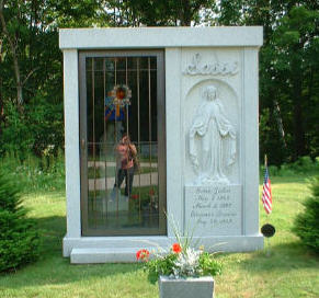 Kim K. | Life Reflected Back | Hope Cemetery, Barre, Vermont