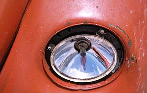 stu | vw beetle headlamp | fish hoek, south africa