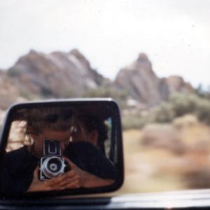 Tiffany Bauer | Me and Scott driving to Joshua Tree | Joshua Tree, 29 Palms, CA