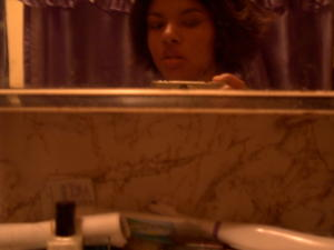 Brigitte | self-portrait in a bathroom #8 | The Philly 'Burbs