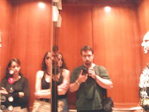 Allen Boudreaux | in a very shiny elevator | sandestin, florida