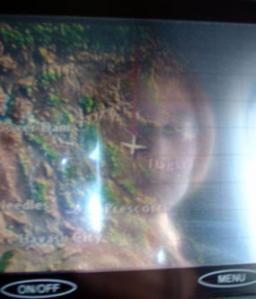 Jessica S. | Airborne | About 39,000 feet above Arizona