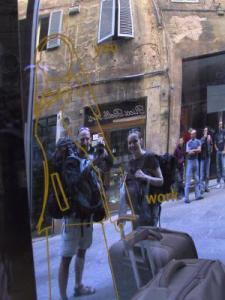 Jay Allen | Me? Work? Basta! | Siena, Italy