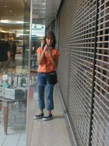 sarah szumanski | closed. do not enter. (terribly early.) | flint michigan, courtland center mall.