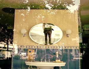 Alan Cowderoy | Double mirror shot | Strasbourg, France