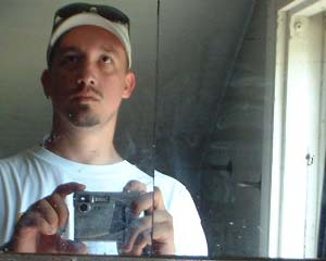 Drew Domkus   upstairs bathroom, 5 acre farm, town of wayne, allenton, washington county, wisconsin