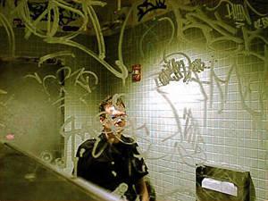 Maximus Clarke | Virgin Megastore Bathroom | Virgin Megastore, Union Square, New York City