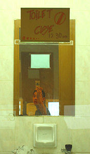 Matt Chia | toilet mirror | Kuala Lumpur