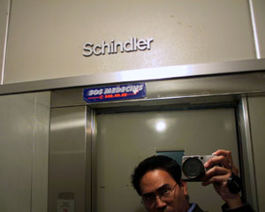 ian | schindler's lift | geneva, switzerland