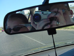 Brandon Olejniczak | Standard car mirror shot | Beaverton, Or.