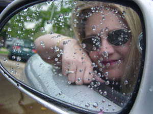 Kymberlie R. McGuire | Rainy Mirror | Houston, Texas
