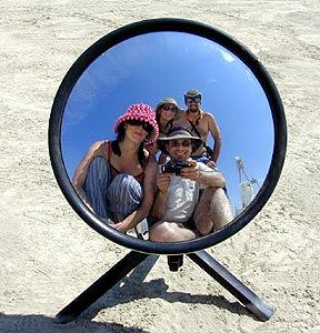 Derek Powazek | On the playa | Black Rock City, NV
