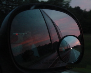 Gina | Reflection within a reflection. | Cedar Springs, Michigan