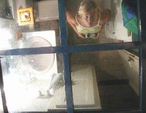 Sabine Reuss | Look straight above | Corfu, Greece