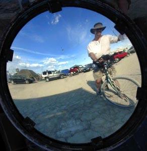 Derek Powazek | Touring Black Rock City | Black Rock City, NV