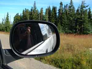 Mike J | rearview | Mt Washington,  Vancouver Island