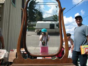 Cyrus David | Antique Mirror | Maynooth, ON