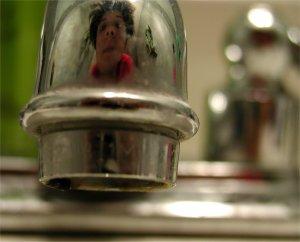 Amanda Bernal | the bathroom sink | my bathroom, MD