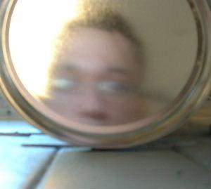 Richard | cookie mirror | CCNY Harlem, NYC