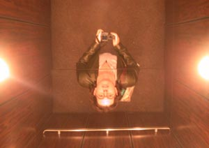 Erin Nedell | me in an elevator | Broadway, NYC