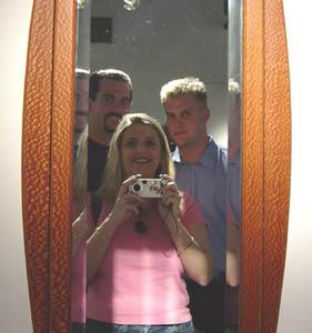 Kymberlie R. McGuire | Mirror Trio | Houston, Texas