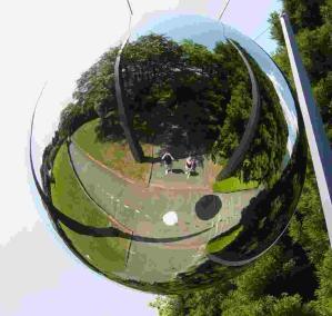 Lisa Stewart | Silverball | Hakone open air museum