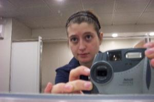 Alison Buckley | London Heathrow Airport Bathroom at Midnight | London Heathrow Aiport