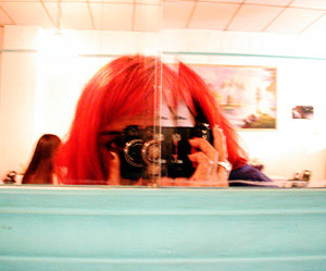 Sarah Davis | restaurant reflection | Ballet restaurant, Seattle, Washington