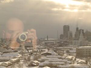 Michael Calanan | Farewell 2001 | Overlooking Buffalo, NY