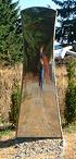 Joe Kohlhas | Monarch Mirror | Monarch Sculpture Park: Tenino, WA USA