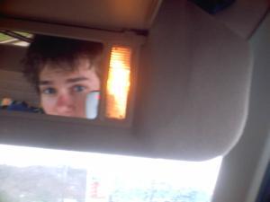 Tim K | car ride picture #1 | in my friends explorer