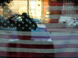 Brian Sienko | stars and stripes | Downtown Milwaukee