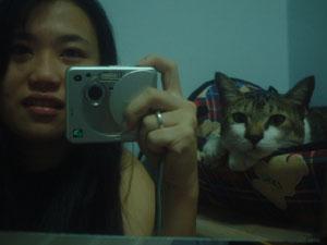 cheryl | Me and my cat | Malaysia