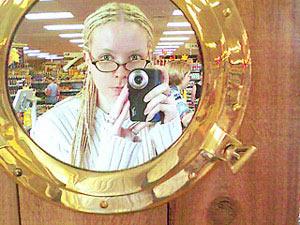 Stephanie Segall | porthole mirror | Virginia, USA