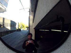Michael Piercey | Traffic mirror | Vancouver, BC