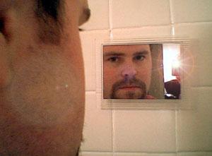 Jason Ruby | In the Bathroom | Portland, OR