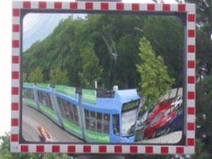 Elke Sisco | Streetcar Mirror | Munich, Germany