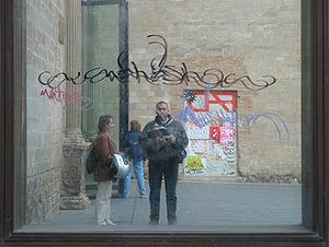 Carmelo Garcia | Outside museum | Barcelona