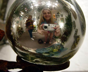 Kymberlie R. McGuire | Mirror Ball | Galveston, Texas