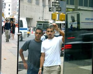 Farid Ali | Visiting the World Trade Center Site | World Trade Center Site, NYC