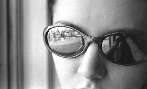 Mary Manchester | lizard glasses | home