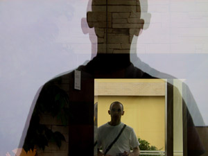 Marc North | self portrait in mirror | something like sacramento, ca