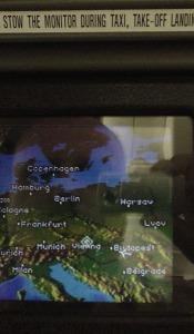 Roland Peschetz | Travel Log #2 | MD-11, somewhere above Hungary