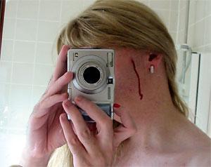 jacqueline | He cut me