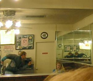 John Darrow | Phooning at Classic Burger | Los Gatos, California