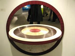 corinne mosh | Round Mirror | Chicago