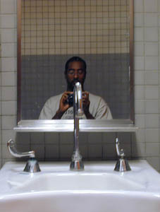 Mohamed A Elhassan | in the bathrooms of power | Tempe, AZ