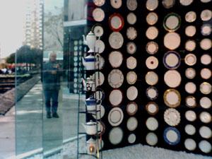 Allan O'Marra | A Window Full Of Crockery | Toronto