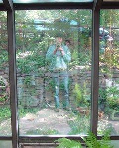 zen sutherland | solarium ghost | Botanical Gardens at Asheville